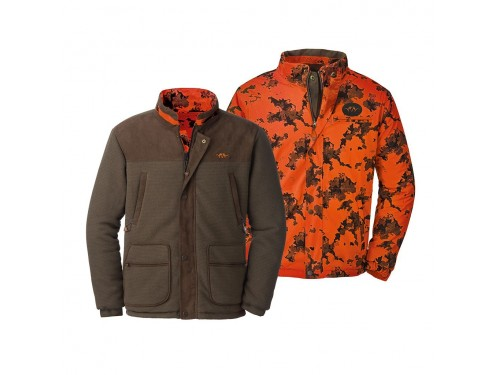 CHAQUETA FLEECE CAMO REV