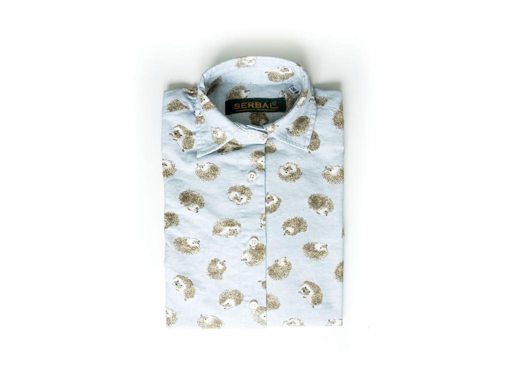 Camisa cuadros de mujer Moda Casual Talla 42 Color 170