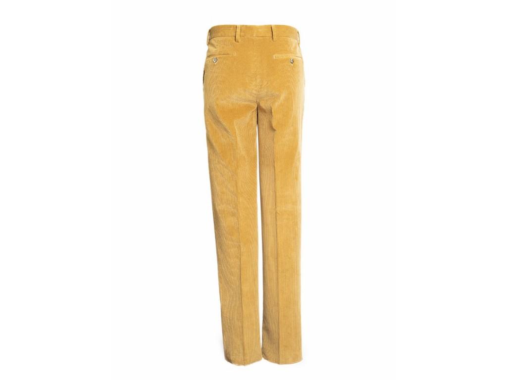 Pantalon Pana Hombre Moda Hombre Talla 44 Color Beige