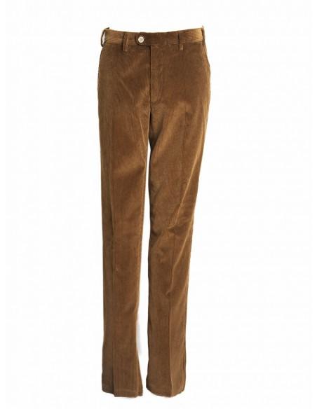 Pantalones Pana De Hombre Serbal Talla 44 Color Marron