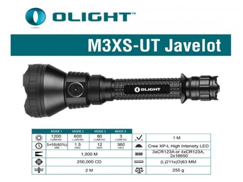 Linterna M3XS-UT 1200 L....
