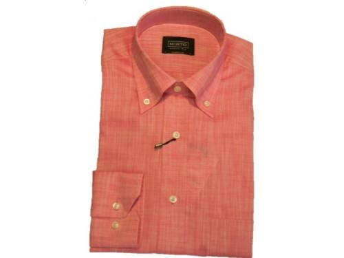 Camisa algodón rosa Mirto