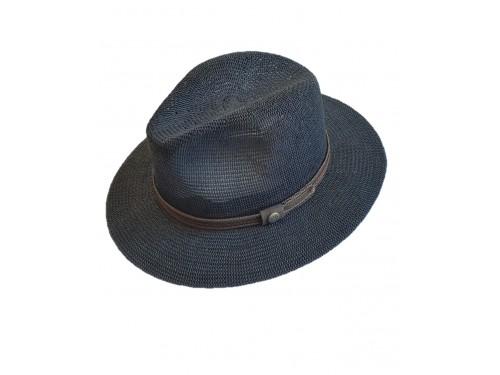 Sombrero de verano color azul