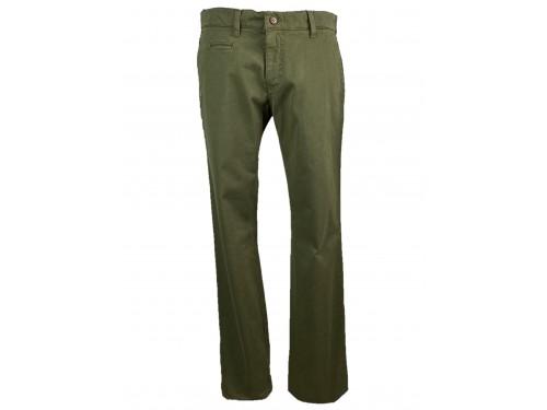 Pantalón algodón hombre oliva