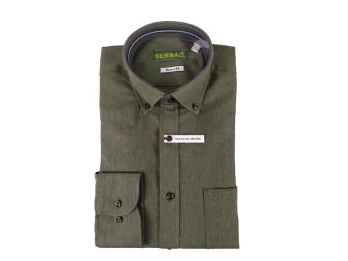 Camisa de algodón Serbal