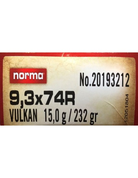 3X74R VULKAN 232 G