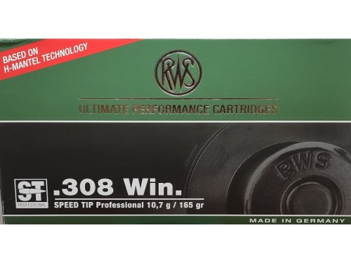 RWS 308 WIN TIP PRO 165 G