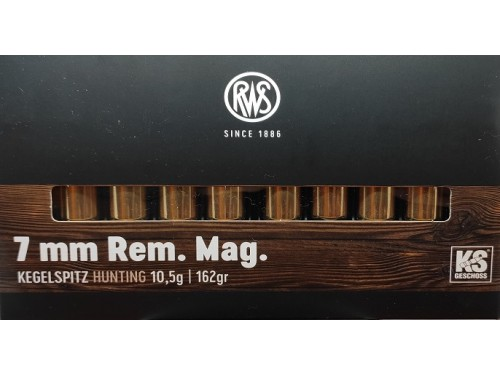 RWS 7MM RM KS 162GR