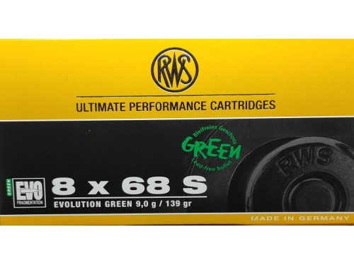 RWS 8X68S EVO 139 G