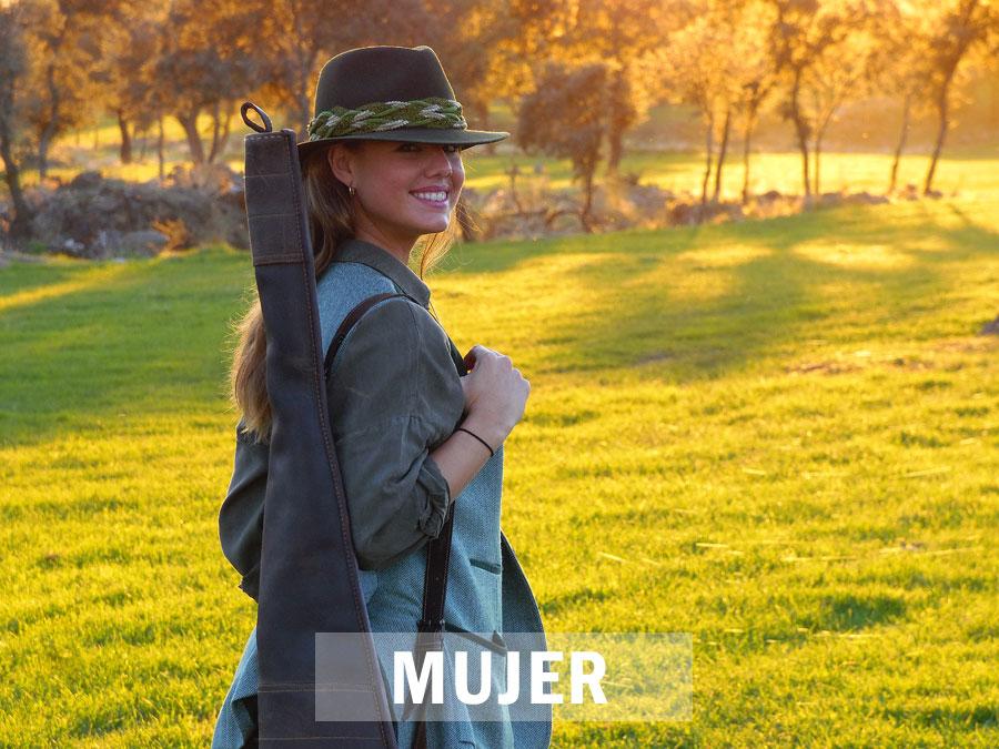 Ropa de mujer de caza